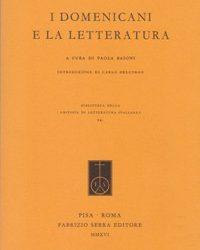 Libro. I domenicani e la letteratura