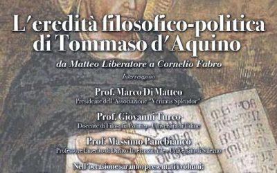 Conferenza. San Tommaso d'Aquino