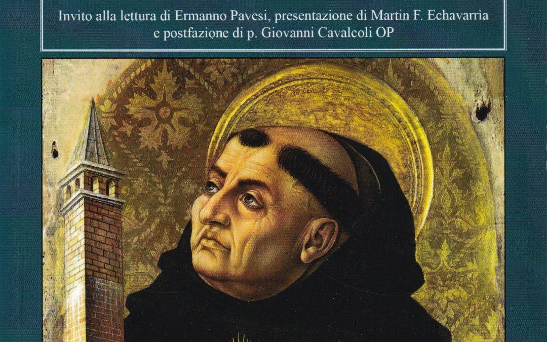 Libro. La psicologia e S. Tommaso d'Aquino
