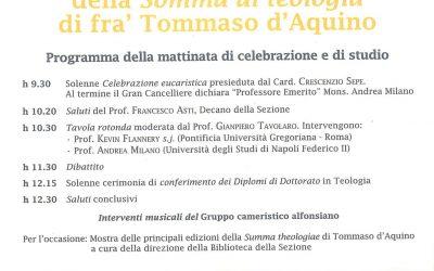 San Tommaso d'Aquino – Conferenza